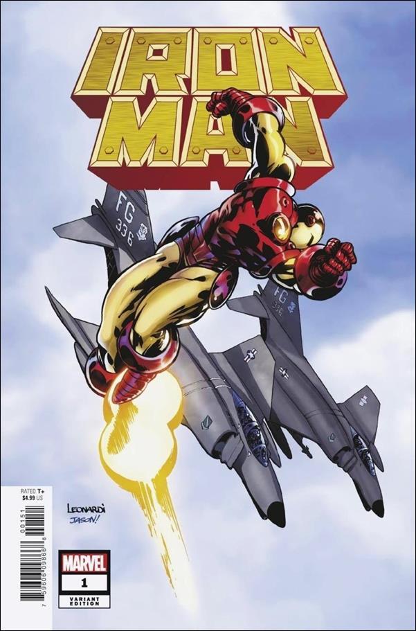 Iron Man (2020) 1-I by Marvel