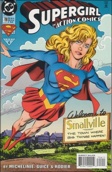 Action Comics (1938) 706-A by DC