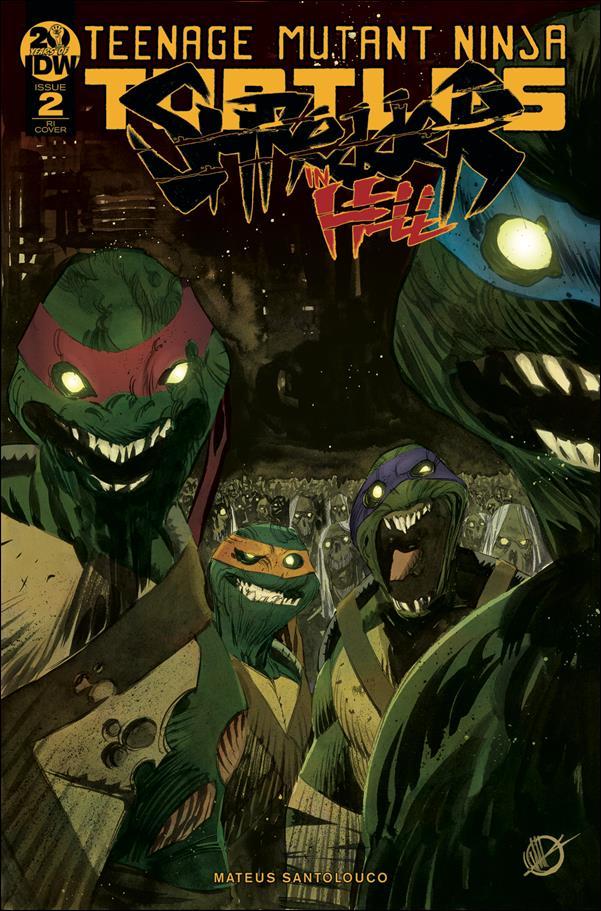 Teenage Mutant Ninja Turtles: Shredder in Hell 2-C by IDW
