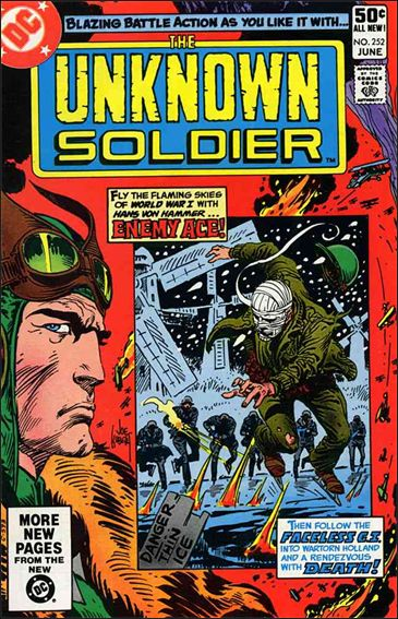 Unknown Soldier (1977)  252-A by DC