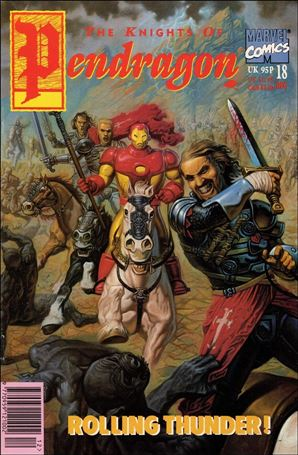 Knights of Pendragon (UK) (1990) 18-A