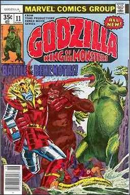 Godzilla (1977) 11-A by Marvel