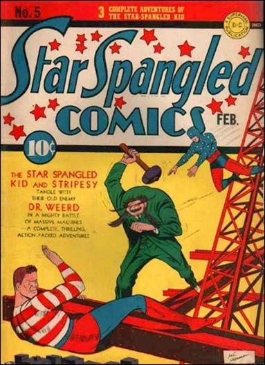 Star Spangled Comics (1941) 5-A by DC