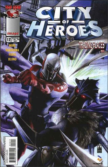City of Heroes (2005) 12-A by Top Cow