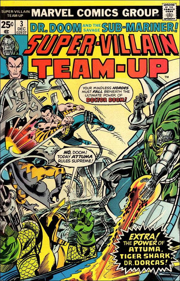 Super-Villain Team-Up 3-A by Marvel
