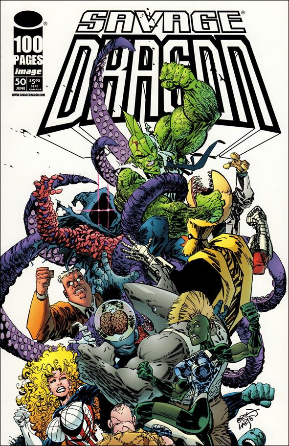 Savage Dragon (1993) 50-A by Image