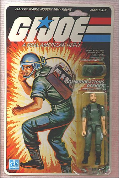 "G.I. Joe: A Real American Hero 3 3/4"" Basic Action Figures Breaker (Communications Officer) by Hasbro"