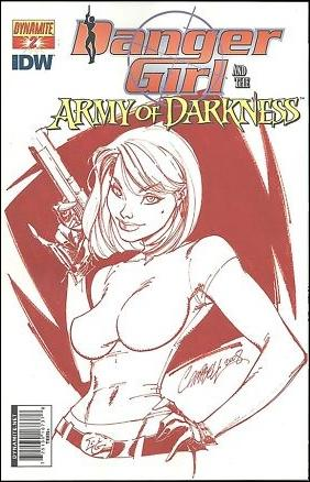 Danger Girl and the Army of Darkness 2-F by Dynamite Entertainment