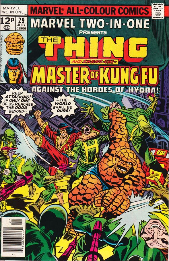 Marvel Two-in-One (1974) 29-C by Marvel