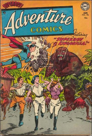 Adventure Comics (1938) 196-A by DC