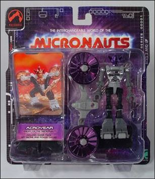 Micronauts (Series 1) Acroyear (Purple)