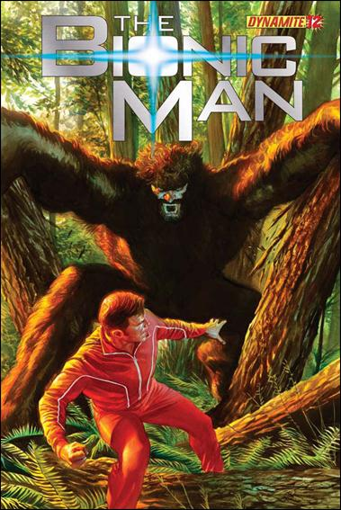 Bionic Man 12-A by Dynamite Entertainment