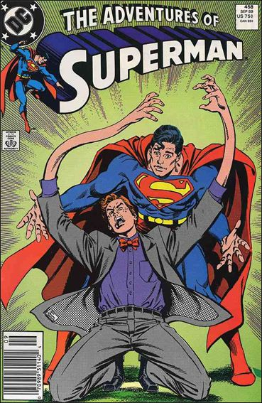 Adventures of Superman (1987) 458-A by DC