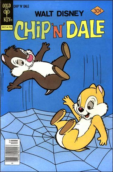 Walt Disney Chip 'n' Dale (1967) 48-A by Gold Key