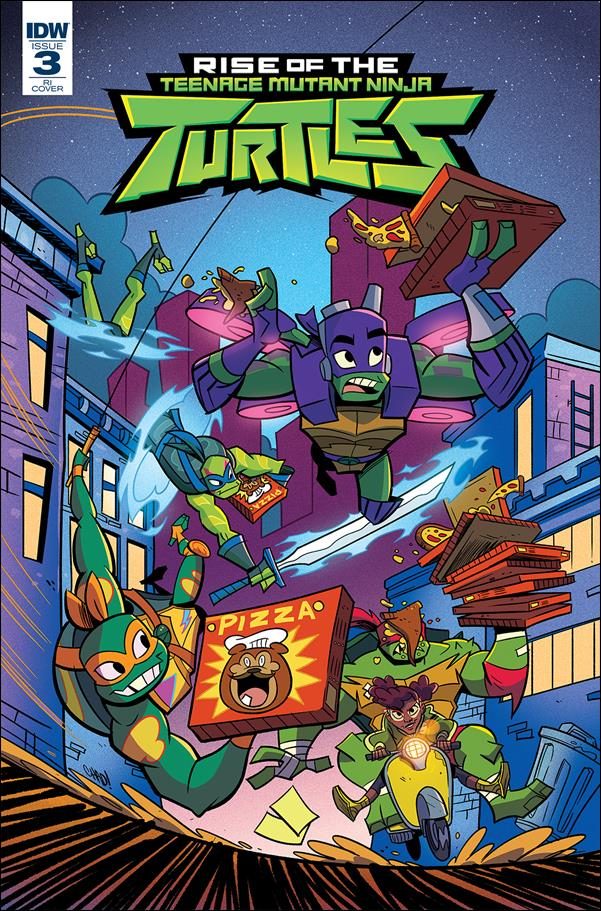 Rise of the Teenage Mutant Ninja Turtles 3-B by IDW