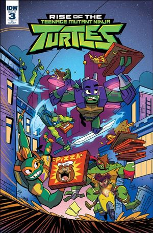 Rise of the Teenage Mutant Ninja Turtles 3-B