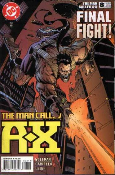 Man Called A-X (1997) 8-A by DC