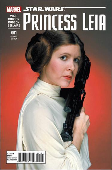 Princess Leia 1-B by Marvel