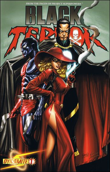 Black Terror (2008) 1-B by Dynamite Entertainment