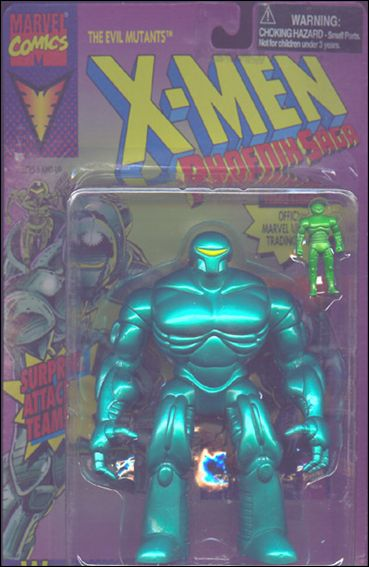 X-Men (Phoenix Saga Series)  Warstar (Short Card) by Toy Biz