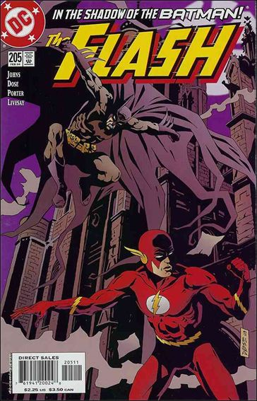 Flash (1987) 205-A by DC