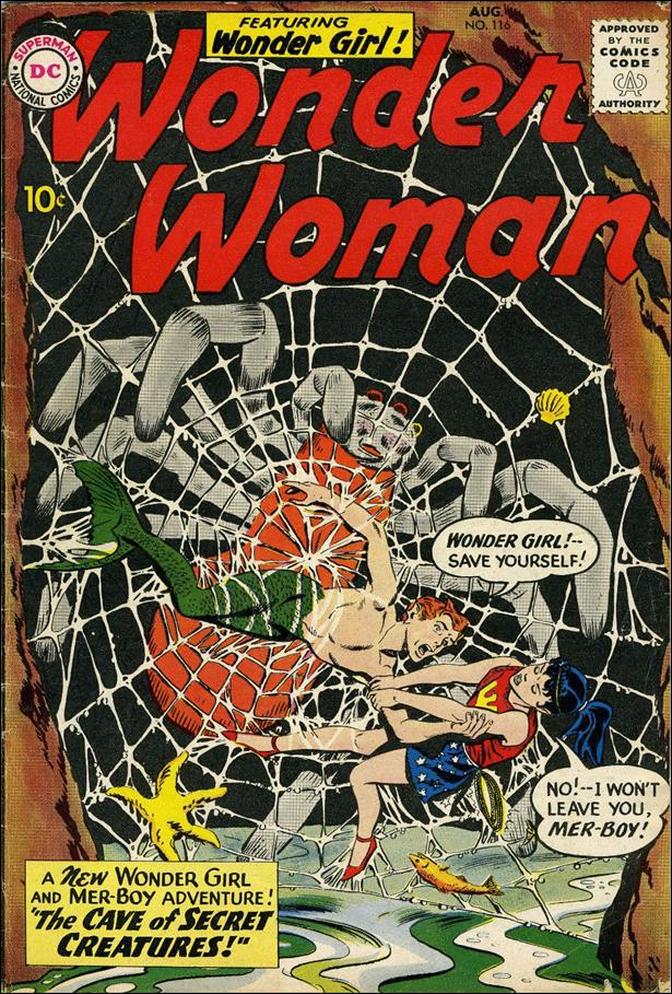 Wonder Woman (1942) 116-A by DC