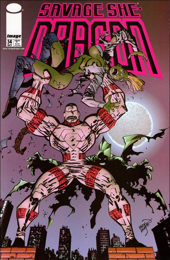 Savage Dragon (1993) 54-A by Image
