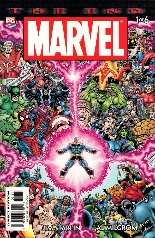 Marvel Universe: The End 1-A by Marvel