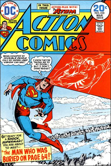 Action Comics (1938) 433-A by DC