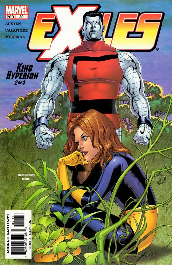 Exiles (2001) 39-A by Marvel