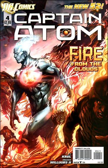 Captain Atom (2011) 4-A by DC