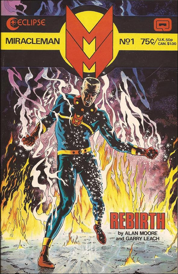 Miracleman 1-A by Eclipse