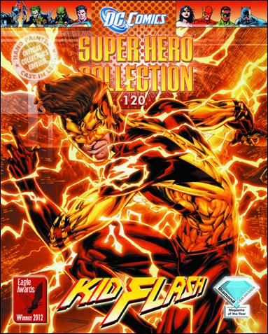 DC Comics Super Hero Collection (UK) 120-A by Eaglemoss Publications