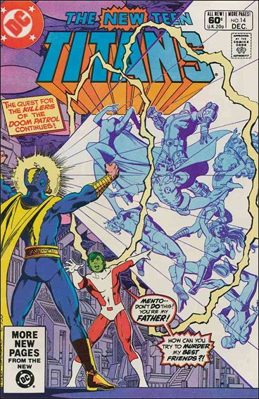 New Teen Titans (1980) 14-A by DC