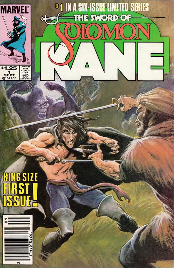 Solomon Kane (1985) 1-A by Marvel