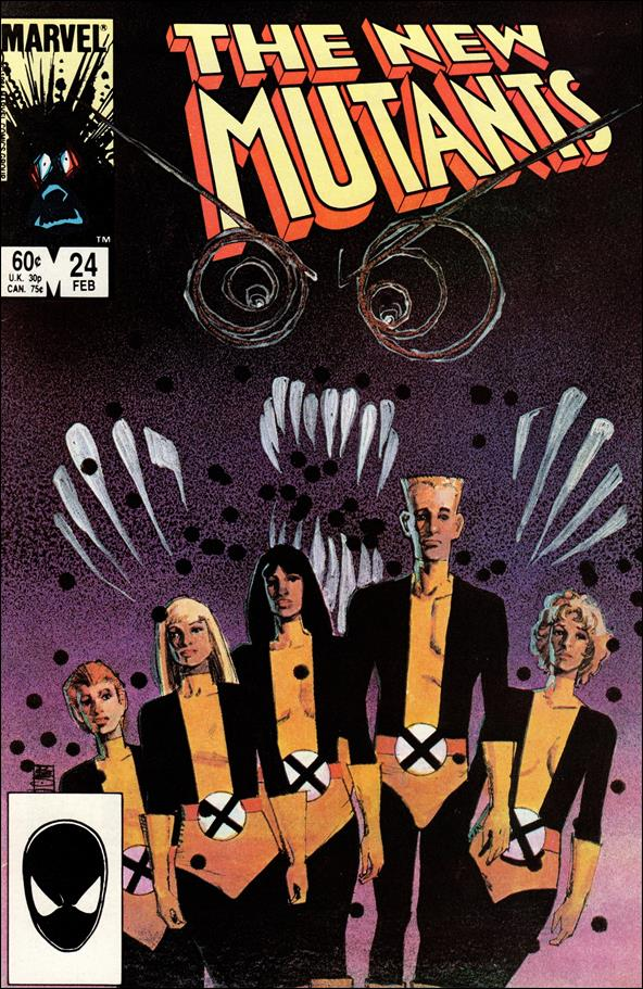 New Mutants (1983) 24-A by Marvel