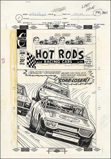 Hot Rods and Racing Cars   by Charlton