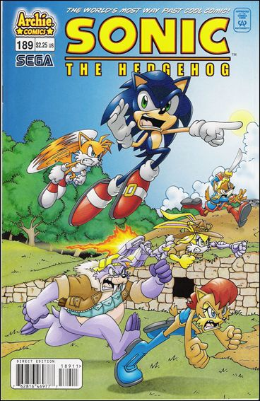 Sonic the Hedgehog (1993) 189-A by Archie