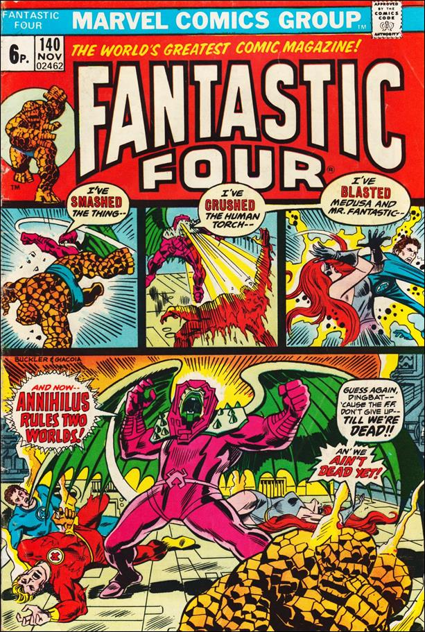 Fantastic Four (1961) 140-B by Marvel