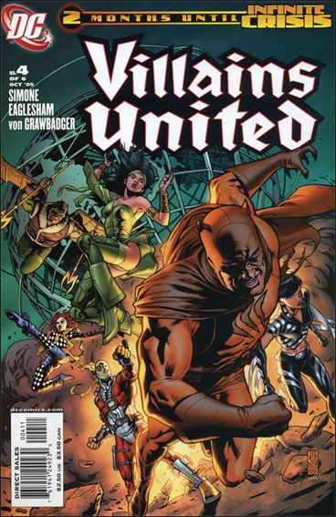 Villains United 4-A by DC