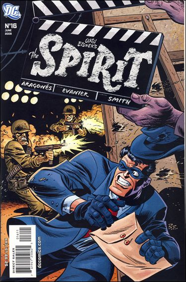 Spirit (2007) 16-A by DC