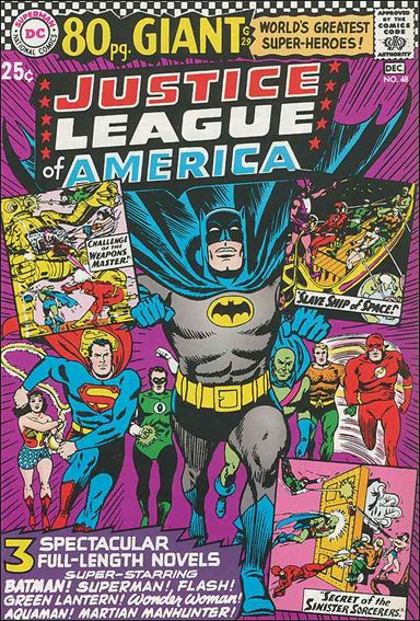 Justice League of America (1960) 48-A by DC