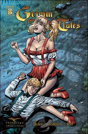 Grimm Fairy Tales 3-C by Zenescope Entertainment