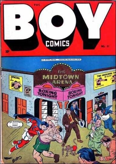 Boy Comics 21-A by Lev Gleason Productions