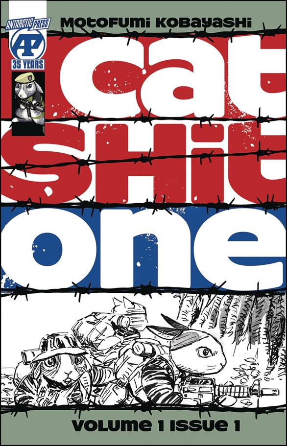 Cat Shit One 1-A by Antarctic Press