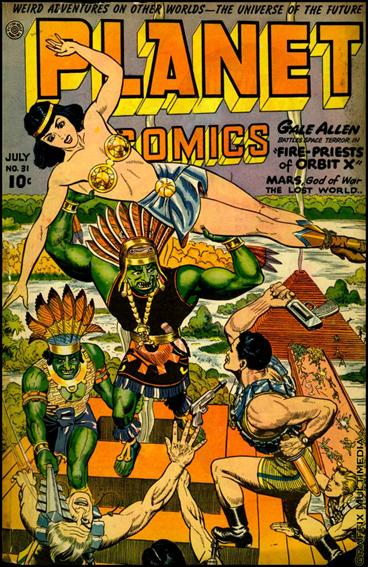 Planet Comics (1940) 31-A by Fiction House Magazines