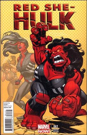 Red She-Hulk 61-B by Marvel
