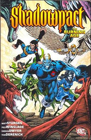 Shadowpact: The Burning Age nn-A by DC