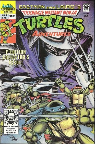 Teenage Mutant Ninja Turtles Adventures (1989) 1-E by Archie