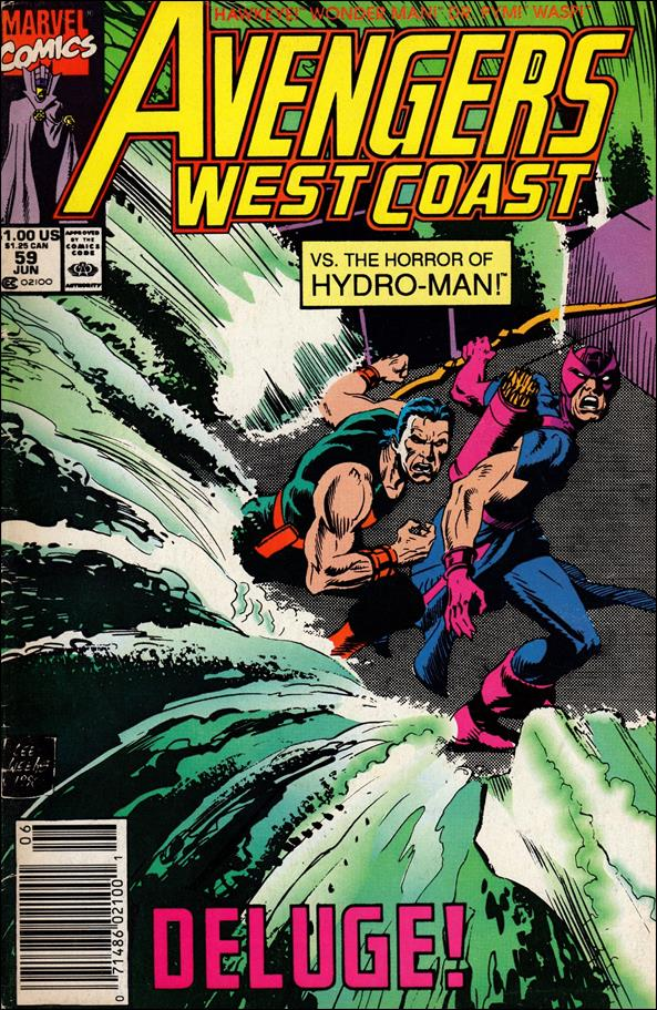 Avengers West Coast 59-A by Marvel